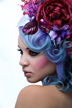 photograph: jay see pictures model: Mlle Chamalow  Stylism: spaceshiplolita designer hair: jérome renault  France- 2014
