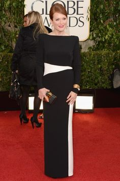 Julianne Moore in Tom Ford #GoldenGlobes 2013
