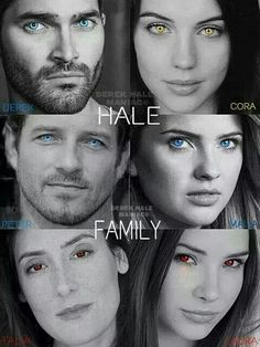 Teen Wolf - Hale family