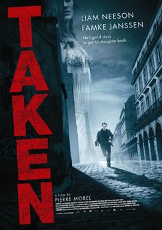 Taken a film by Pierre Morel + MOVIES + Liam Neeson + Maggie Grace + Famke Janssen + Jon Gries + David Warshofsky + Holly Valance + cinema + Action + Crime + Thriller Maggie Grace, Movies And Series, Hd Movies, Movies Online, Movies And Tv Shows, Watch Movies, 2017 Movies, Movies Free, Famous Movies
