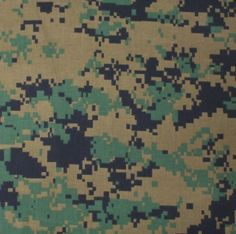 "Woodland Digital Camouflage Military 27"" x 27"" Cotton Bandana   4342   $2.69"