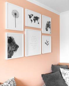 Still in love with this place in my room! And ooh I love my peach colored wall! Recently I bought some posters from @desenio to fill up my peach coloured wall. Before it was empty and i had the idea to change that. So I bought these frames from @ikeabelgium and search for the perfect posters. I have an obsession of elephants and my horoscope is lion so the perfect combination! The world map is because I love to travel. The quote is exactly what I think about life. Im so happy with my…