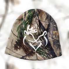 I just love our new camo beanies!
