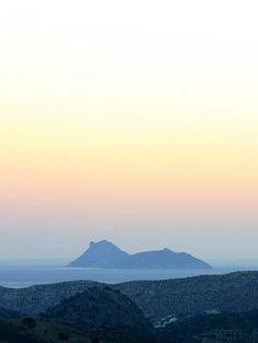 Sunset over the Island of Paximadi, near Kommos Beach. Heraklion, Crete Greece, Mediterranean Sea, Home And Away, Strand, Kos, Mountains, Beach, Holiday