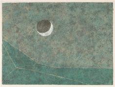 Eclipse By Rufino Tamayo ,1980