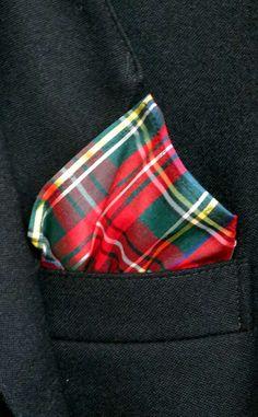 Silk Tartan Handkerchief by Scotweb for $19 in the Buchanan tartan