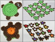Super cute and fun, this adorable turtle matching Memory Game includes 16 crocheted turtles with a rainbow of colors on their bellies. Unique, fun, and educational too! How do you play? Have your preschooler turn the turtles over one at a time and name the colors together. Or, hand them a color and see if they can find the match! Then of course there is the traditional game thats fun for any age where you place all the turtles in a 4 x 4 grid and flip by memory until a match is made! This…