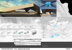 Concurso de Arquitetura   Aquário das Dunas