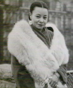 Mayme Hatcher Johnson, Author and Widow of Harlem Gangster Bumpy Johns...