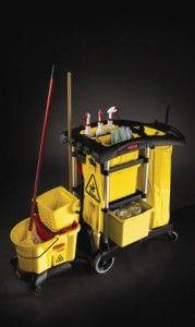 Основните предимства на съвременните професионално почистващи колички