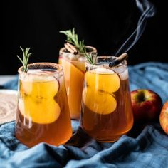 - Smoky Harvest Apple Cider Margaritas