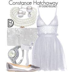 Disney Bound - Constance Hatchaway (Haunted Mansion)