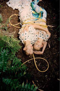 """ミーシャ misha janette on Twitter: """"毒毒しいお庭、ポイズンアイビー。おやすみなさい、ファッショナブルな夢を! Numero Oct 2015 http://t.co/oRZT9qh9sl"""""""