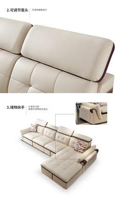 Купить Кожаный диван Di Pu в интернет-магазине с Таобао (Taobao) из Китая, низкие цены | Nazya.com Furniture