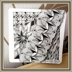 Lily's Tangles: 16. Weekly tiles
