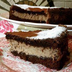 Simo's Cooking: Torte al Cioccolato  torta versata al cacao con crema di ricotta & nutella