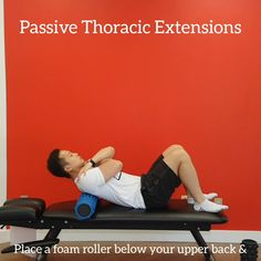 1 of 90 exercises for mid and low back Yoga Foam Roller, Foam Roller Exercises, Gym Workout Videos, Easy Workouts, Thoracic Spine Mobility, Couch Workout, Lower Back Pain Exercises, Stretching Program, Strength Program