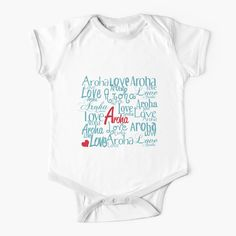 'Aroha' Kids Clothes by FantailDA English Words, Kids Cards, Simple Dresses, Short Sleeves, Gift Ideas, Baby, How To Wear, Stuff To Buy, Clothes