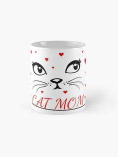Buy now coffe mug with a cat Framed Prints, Canvas Prints, Art Prints, Cat Accessories, Cat Quotes, Buy A Cat, Cat Gifts, Cat Cat, Sell Your Art
