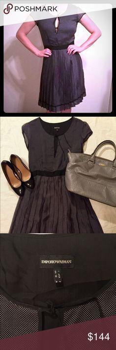 Selling this Armani silk polka dot dress on Poshmark! My username is: blalock720. #shopmycloset #poshmark #fashion #shopping #style #forsale #Emporio Armani #Dresses & Skirts