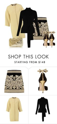 """""""141"""" by vicinogiovanna ❤ liked on Polyvore featuring For Love & Lemons, Oscar de la Renta, Marni, Whistles and Anndra Neen"""