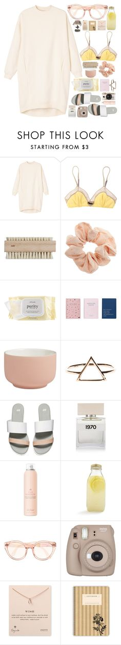 """SWEET N SOUR"" by i-sabellasmith ❤ liked on Polyvore featuring Monki, 3.1 Phillip Lim, Topshop, philosophy, CB2, H&M, Bella Freud, Urban Outfitters, Drybar and Bormioli Rocco"