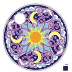 Pathtag #22539 - Celestial Mandala