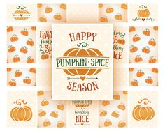 Pumpkin Spice planner stickers October Planner Sticker Fall Planner Stickers Fall stickers Erin Condren Planner Pumpkin Planner Stickers set by EnjoyPlanning on Etsy