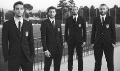 Mattia De Sciglio, Claudio Marchisio, Giorgio Chiellini, Daniele De Rossi | Italy NT
