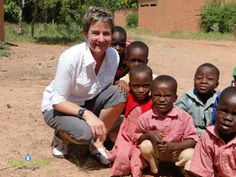 Ryan's Well Executive Director, Jane Baird, in Togo, 2012
