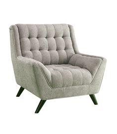Natalia Grey Retro Chair