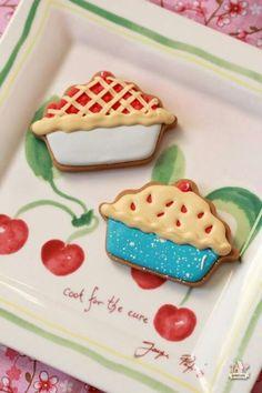 Decoreted cookies