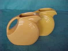 Homer Laughlin Fiesta Pitcher Juice Harlequin Yellow by Justaboutmodern on Etsy https://www.etsy.com/listing/209426934/homer-laughlin-fiesta-pitcher-juice