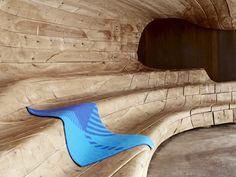 Blankets by Snøhetta for Røros Tweed, amazing collaboration between architecture and fibre art - via dezeen