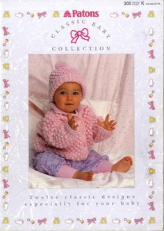 Baby crochet sweater pattern free drops design 64 ideas for 2019 Baby Knitting Patterns Free Newborn, Baby Cardigan Knitting Pattern Free, Baby Girl Patterns, Chunky Knitting Patterns, Knit Patterns, Free Knitting, Knit Baby Sweaters, Knitted Baby Clothes, Baby Knits