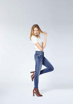 Die 60+ besten Bilder zu Damen Jeans | damen jeans, jeans, damen