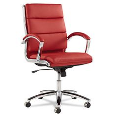 Found it at Wayfair - Edgecliff Mid-Back Leather Executive Chair