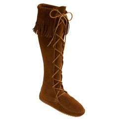 Minnetonka Lace-Up Boot available at #Nordstrom