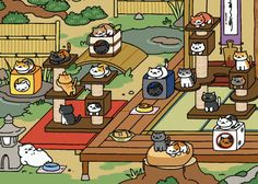 janebtrox, SOMEONE IN NEKO ATSUME REACHED 23 CATS! TEACH ME...