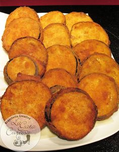 La Gata Curiosa: BERENJENAS RELLENAS DE JAMÓN Y QUESO Tapas, Mexican Food Recipes, Vegetarian Recipes, Cooking Recipes, Healthy Cooking, Great Recipes, Favorite Recipes, Good Food, Yummy Food