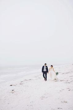 Romantic & Natural Beach Wedding Ideas