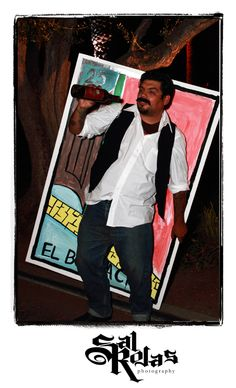 El Borracho Loteria Photographs