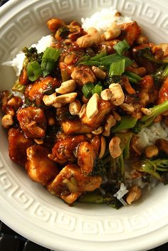 Cashew Chicken. Made this tonight. Was easy and tasty. Next time I think I'll add some celery or cauliflower to it. Great recipe!