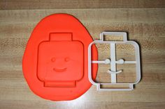 Lego Minifigure Head Cookie Cutter by Geek2Geek on Etsy
