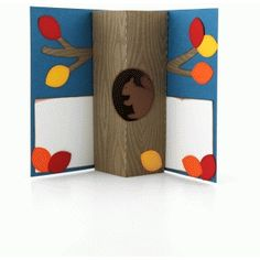 Silhouette Design Store - View Design #65336: a2 tree trunk pop up card