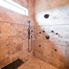 mediterranean bathroom by Collinas Design & Construction