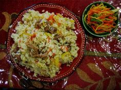 Mutton Pilaf - I've been looking for this recipe since I tried this in Xinjiang!