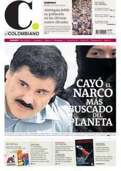 Nuestra portada de hoy, 23 de febrero de 2014.