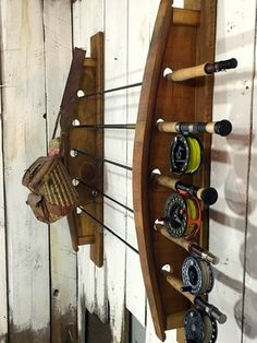 Goin' fishin'!  Fly fishing rack