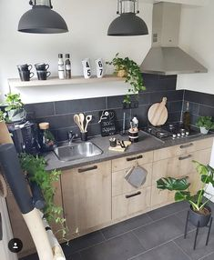 Home Inspiration Scandinavian Woods 50 Trendy Ideas Rustic Kitchen Design, Interior Design Kitchen, Kitchen Decor, Beautiful Kitchens, Home Kitchens, Kitchen Remodel, Sweet Home, House Design, House Styles